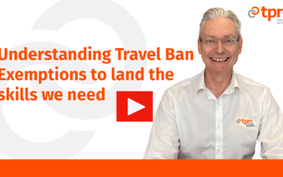 Understanding travel ban exemptions to land the skills we need